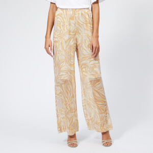 See By Chloé Women's Tiger Camouflage Trousers - Multicolor 2