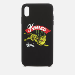 KENZO Women's Jumping Tiger iPhone X+ Case - Black