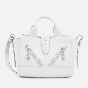 KENZO Women's Mini Kalifornia Tote Bag - Pale Grey
