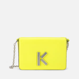 KENZO Women's Chainy Cross Body Bag - Lemon