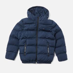 Tommy Hilfiger Boys' Essential Padded Jacket - Black Iris