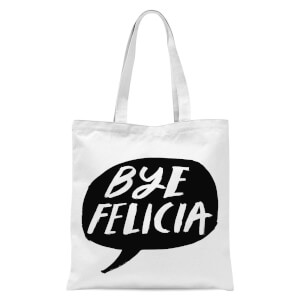 Rock On Ruby Bye Felicia Tote Bag - White