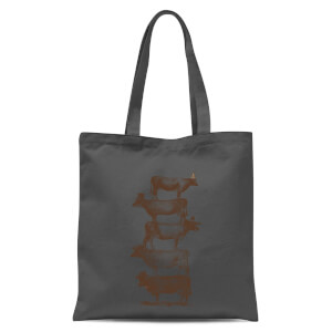 Florent Bodart Cow Cow Nuts Tote Bag - Grey