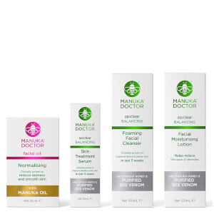 Manuka Doctor Neutralise Oily Skin Regime (Worth £77.96)