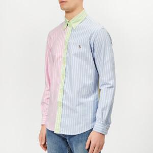 Polo Ralph Lauren Men's Oxford Regular Fit Shirt - Fun Stripe