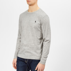 Polo Ralph Lauren Men's Long Sleeve T-Shirt - Dark Vintage Heather