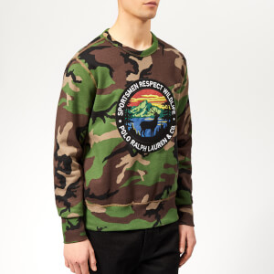 Polo Ralph Lauren Men's Sportsman Sweatshirt - Surplus Camo