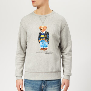 Polo Ralph Lauren Men's Bear Sweatshirt - Andover Heather