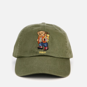 Polo Ralph Lauren Men's Bear Logo Cap - Supply Olive