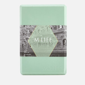 M-Life Women's Eco Yoga Block - Sage