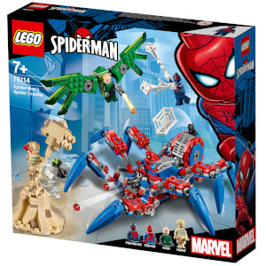 LEGO Super Heroes: Spiderman's Spider Crawler 76114