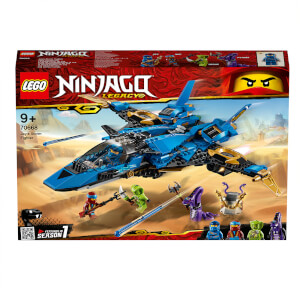 LEGO NINJAGO: Jay's Storm Fighter Set (70668)
