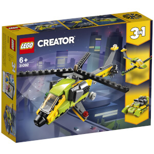 LEGO Creator: 3in1 Helicopter Adventure Building Set (31092)