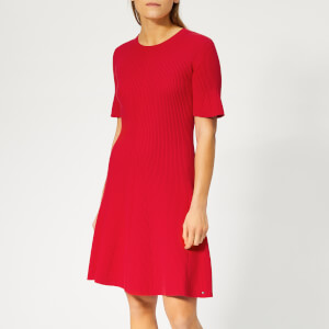 Tommy Hilfiger Women's Sane Dress - Red