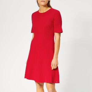 Tommy Hilfiger Women's Sane Dress - Red