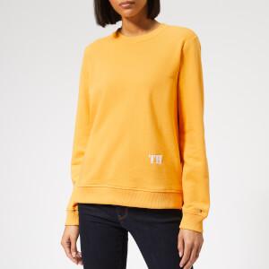 Tommy Hilfiger Women's Louisa Crew Neck Sweatshirt - Yellow