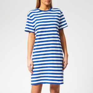 Polo Ralph Lauren Women's Stripe T-Shirt Dress - Blue/White