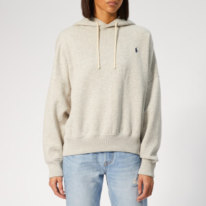 Polo Ralph Lauren Women's PP Crew Neck Pullover Jumper - Grey