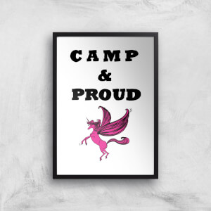 Rock On Ruby Camp & Proud Art Print