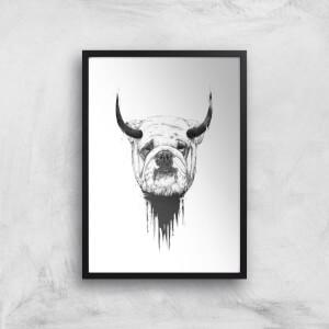 Balazs Solti English Bulldog Art Print