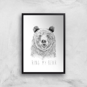 Balazs Solti Ring My Bear Art Print