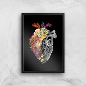 Tobias Fonseca Flower Heart Spring Art Print