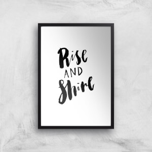PlanetA444 Rise and Shine Art Print