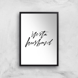 PlanetA444 Insta Husband Art Print