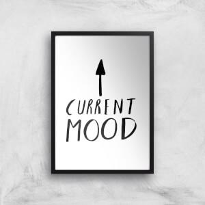 Rock On Ruby Current Mood Art Print
