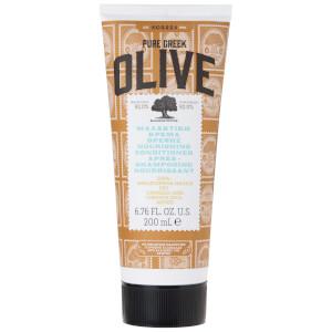 Acondicionador nutritivo Natural Pure Greek Olive para cabello seco/dañado de KORRES 200 ml