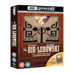 The Big Lebowski: Incl Sweater - Zavvi UK Exclusive 4K Ultra HD & Blu-ray Steelbook