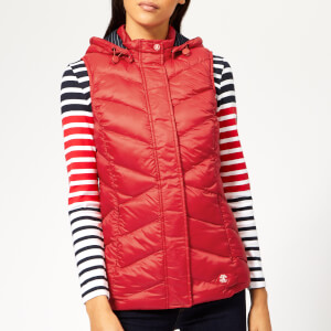 Barbour Women's Seaward Gilet - Coastal Red