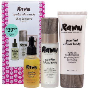 RAWW Skin Saviours - Starter Kit (Worth $74.97)