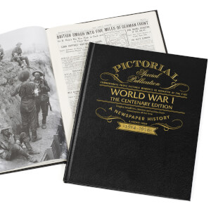WW1 Centenary Pictorial Edition Newspaper Book