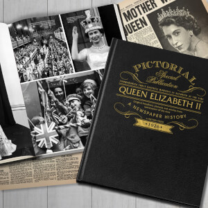 Queen Elizabeth Pictorial Edition Newspaper Book
