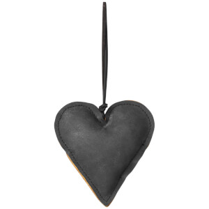 Broste Copenhagen Fade Christmas Ornament - Black - Heart