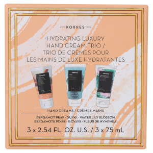 Korres Hydrating Luxury Hand Cream Trio