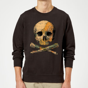 Tobias Fonseca Treasure Map Sweatshirt - Black
