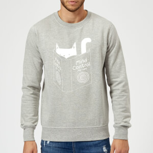 Tobias Fonseca Mind Control for Cats Sweatshirt - Grey