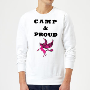 Rock On Ruby Camp & Proud Sweatshirt - White