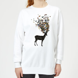 Tobias Fonseca Wild Nature Women's Sweatshirt - White