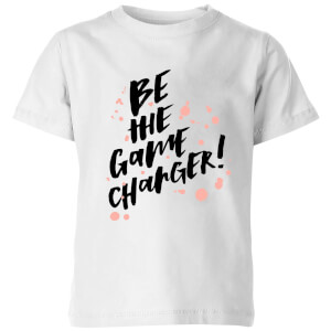 PlanetA444 Be The Game Changer Kids' T-Shirt - White