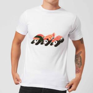 Tobias Fonseca Panda Sushi Men's T-Shirt - White
