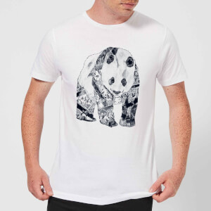 Tobias Fonseca Tattooed Panda Men's T-Shirt - White