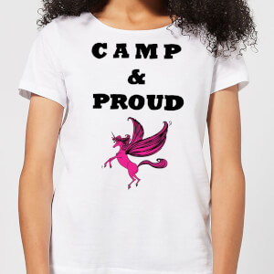 Camp & Proud Women's T-Shirt - White