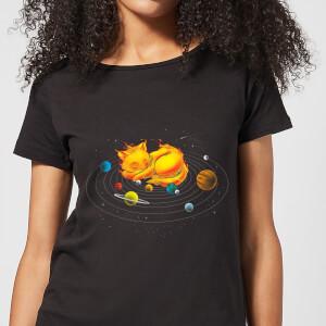 The Centre Of My Universe Women's T-Shirt - Black