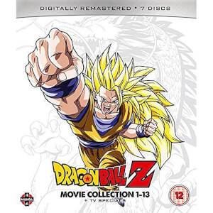 Dragon Ball Z Movie Complete Collection: Movies 1-13 + TV Specials