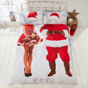 Selfie Santa Duvet Cover Set - Multi