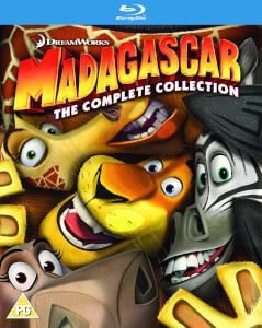 Madagascar 1-3 Collection - 2018 Artwork Refresh