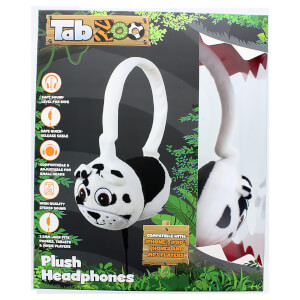 TabZoo Plush Dog Childrens Wired Headphones